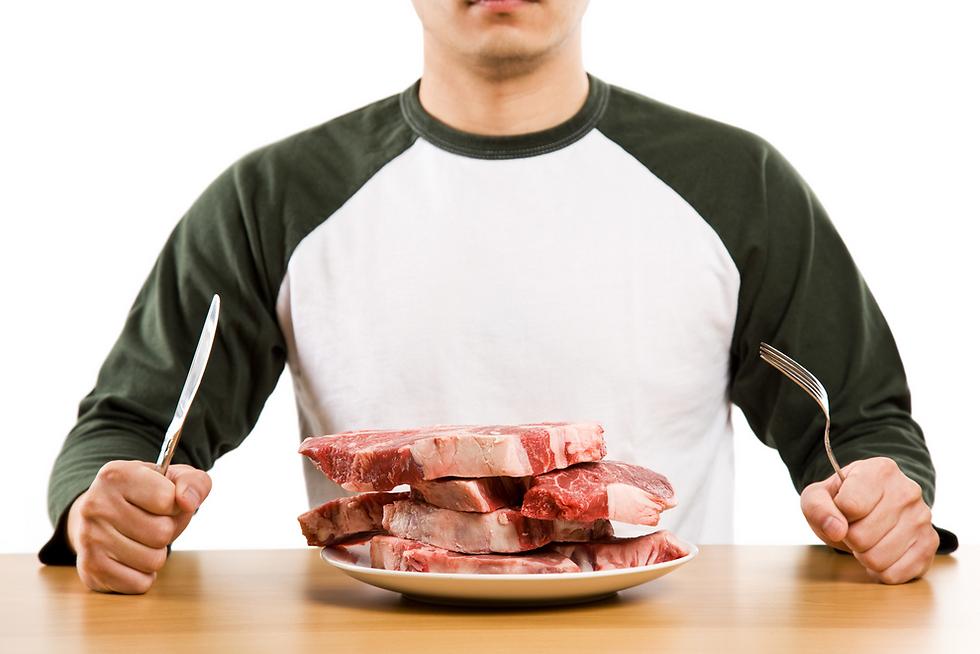 האם בישלתם את הבשר בטמפרטורה מתאימה? (צילום: shutterstock) (צילום: shutterstock)