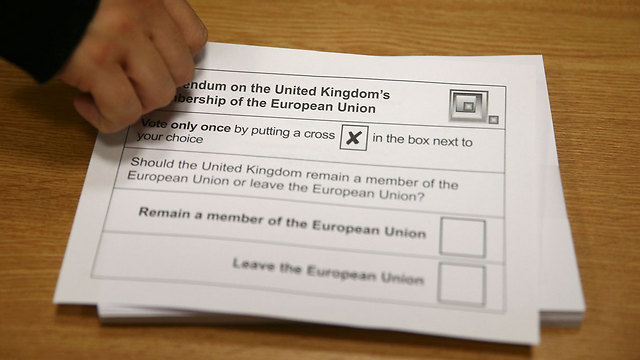 להישאר או לא להישאר באיחוד? זאת השאלה במשאל העם הבריטי (צילום: רויטרס)