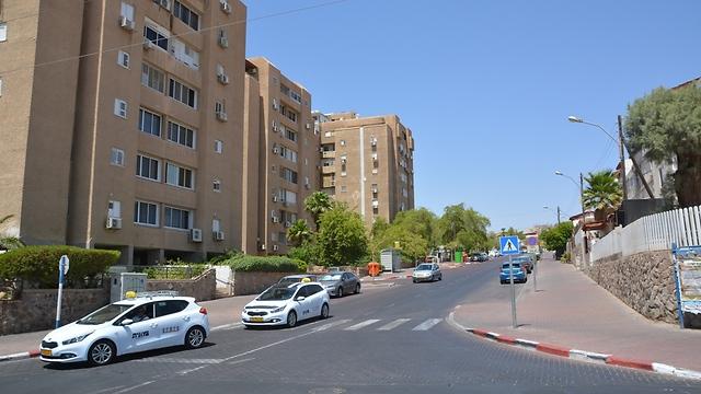 שכונת הדקל באילת (צילום: מאיר אוחיון)