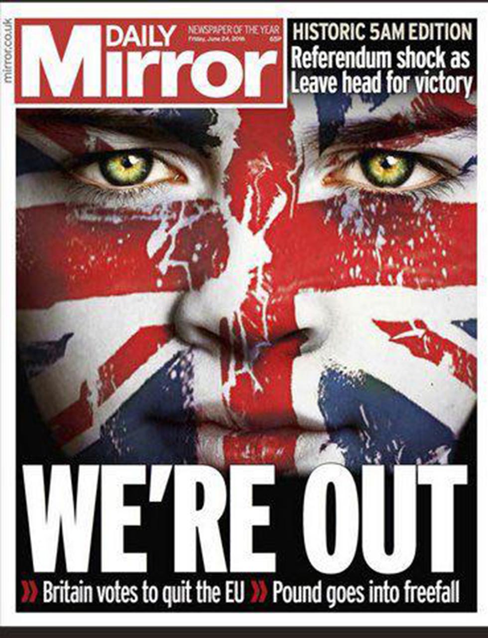"""הבריטים לא צפו את ה""""ברקזיט"""" ()"""