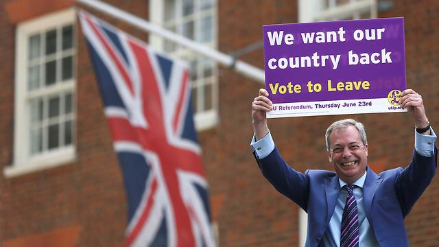 מנהיג מפלגת העצמאות הבריטית פראג'. מי הבאה בתור? (צילום: רויטרס) (צילום: רויטרס)