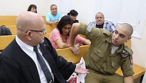 Hebron shooting soldier Sgt. Elor Azaria (Photo: Motti Kimchi)