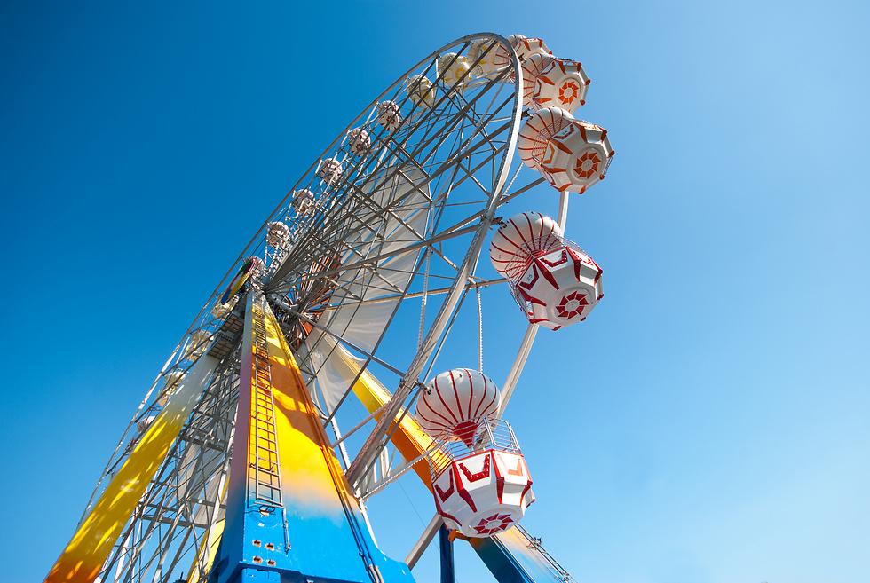 הגלגל הענק בורנה. לילדים לא יהיה משעמם ביעד הזה (צילום באדיבות קשרי תעופה) (צילום באדיבות קשרי תעופה)