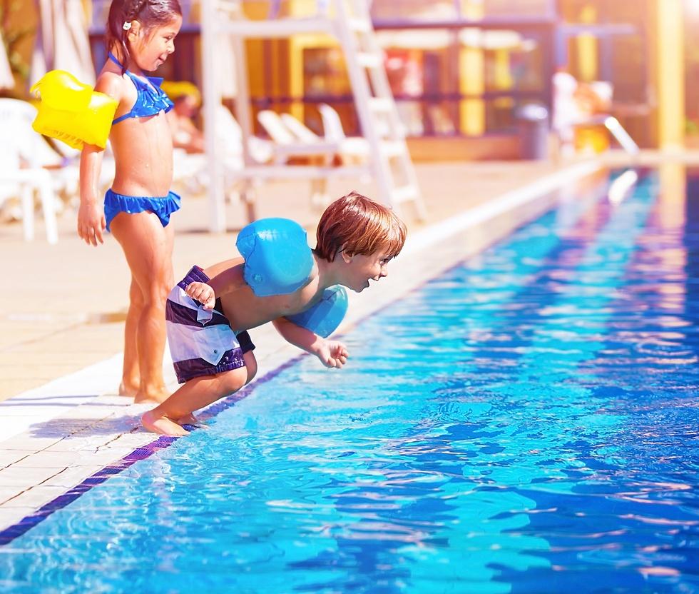 מגלשות ומועדוני ילדים במרבית המלונות החוף בבולגריה. לא צריך לרדוף אחרי הילדים (צילום באדיבות קשרי תעופה) (צילום באדיבות קשרי תעופה)
