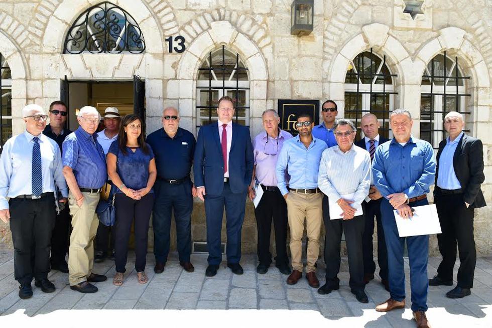ביקור המלונאים בירושלים (צילום: רפי קוץ) (צילום: רפי קוץ)