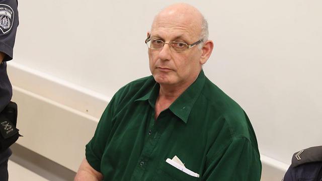 שמעון קופר בבית המשפט  (צילום: מוטי קמחי) (צילום: מוטי קמחי)