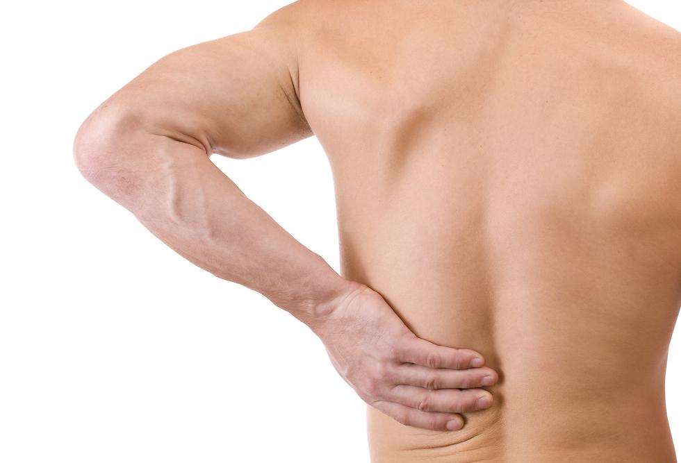 כאבים בגב התחתון. לרוב הכאב אינו מאובחן כלל (צילום: shutterstock) (צילום: shutterstock)