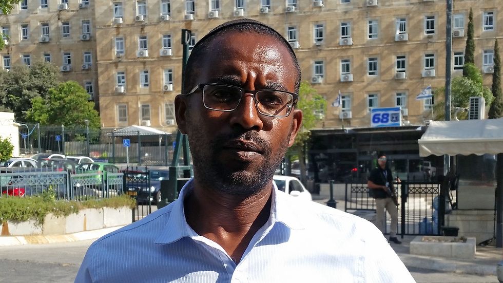 Ilan Mengistu, Abera's brother (Photo: Eli Mendelbaum)