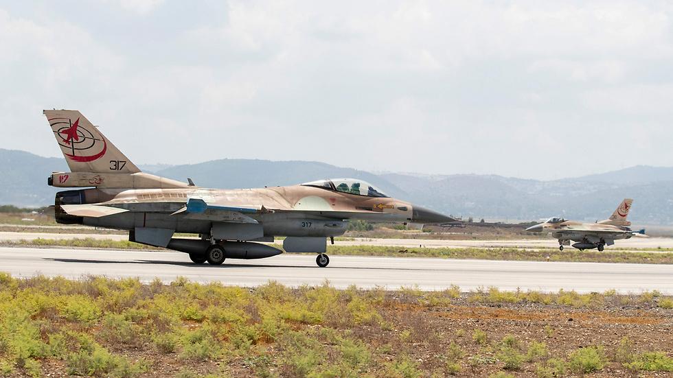 מטוס F-16 בבסיס חיל האוויר. תהיה אחראית על ריכוז הפעילות (צילום: AFP) (צילום: AFP)