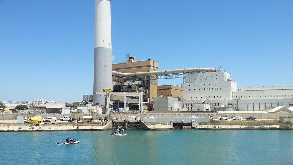 מתחם תחנת הכוח רידינג בתל אביב (צילום: אור גפן) (צילום: אור גפן)