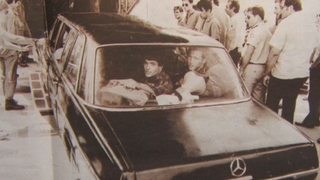Using the Mercedes limousine was 'not as clever as they thought.' (Photo: Shlomi Reisman)
