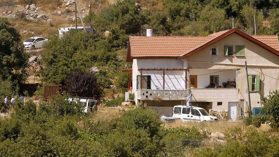 הבית שאליו חדר המחבל (צילום: AFP) (צילום: AFP)