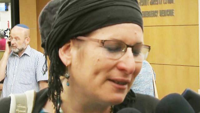 האם השכולה רינה אריאל (צילום: עפר מאיר) (צילום: עפר מאיר)