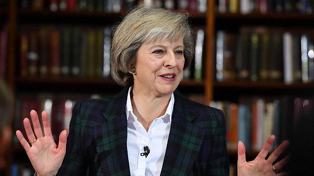 פופולרית בקרב בריטים רבים ומועמדת לנצח. שרת הפנים תרזה מיי (צילום: gettyimages) (צילום: gettyimages)