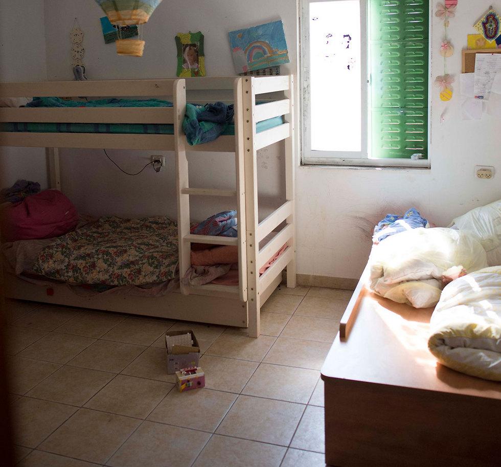 החדר שבו נרצחה הלל (צילום: יואב דודקביץ') (צילום: יואב דודקביץ')