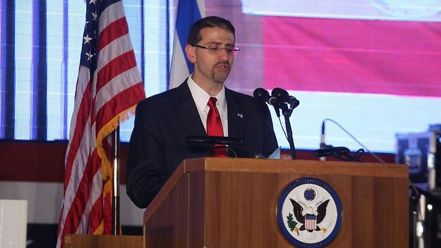 """דן שפירו, שגריר ארה""""ב לשעבר בישראל (צילום: מוטי קמחי) (צילום: מוטי קמחי)"""