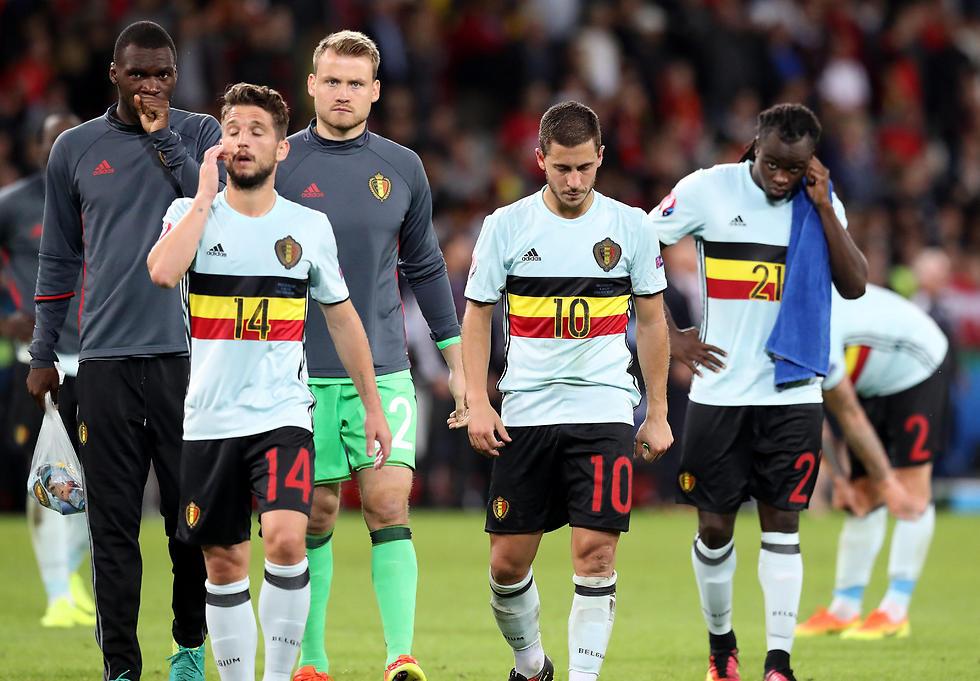 יורו 2016 הסתיים באכזבה מבחינת בלגיה ברבע הגמר (צילום: epa) (צילום: epa)