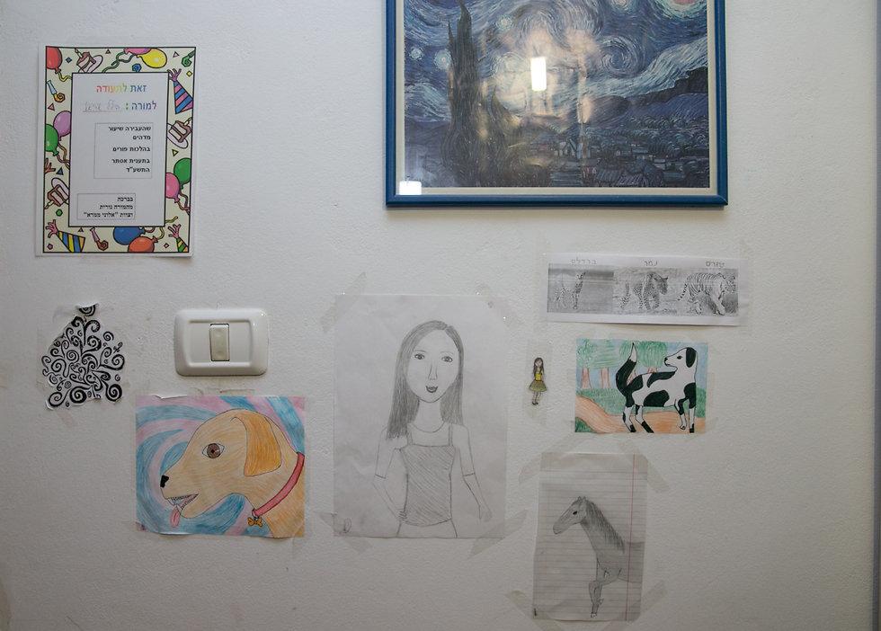 """""""היא אהבה מאוד חיות, תמיד דיברה עליהן וציירה אותן"""" (צילום: אוהד צויגנברג) (צילום: אוהד צויגנברג)"""