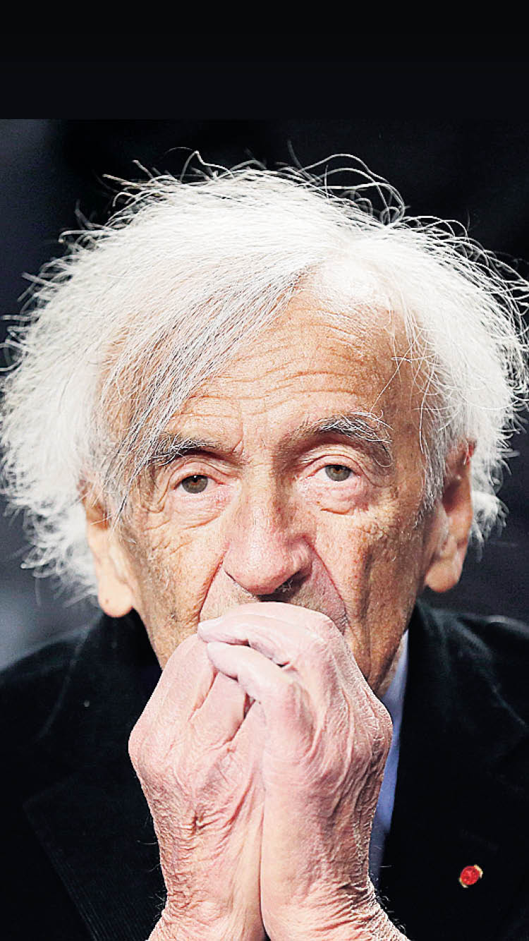 elie wiesel and the holocaust 2018-5-30 elie wiesel became founding chairman of the united states holocaust memorial council in 1980 here, he speaks at a ceremony held during the tribute to holocaust survivors, one of the museum's tenth anniversary events.