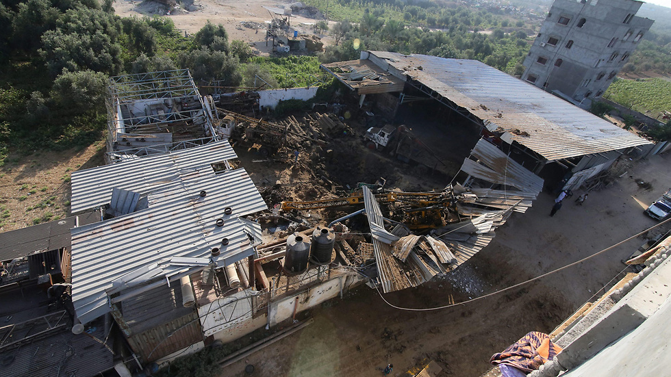Israel Air Force attacks targets in Gaza Strip (Photo: EPA)