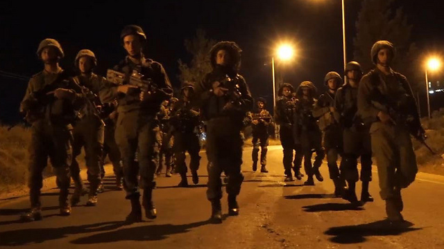IDF soldiers in the West Bank (Photo: Reuters)