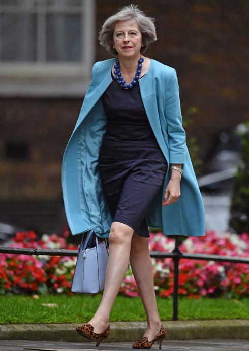 מחוץ לרשימה: ראש ממשלת בריטניה תרזה מיי, 59 (צילום: Gettyimages)
