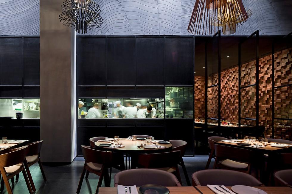The restaurant.