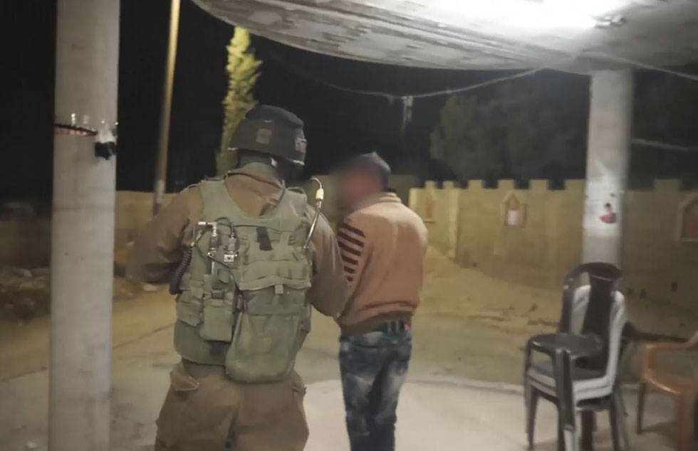 Two brothers arrested (Photo: IDF spokesperson's unit)