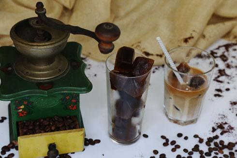 קוביות אספרסו לאייס קפה מהיר (צילום: עודד חוברה)