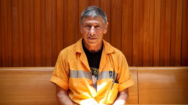 חנן גולדבלט בבית המשפט (צילום: נועם מושקוביץ   ) (צילום: נועם מושקוביץ   )