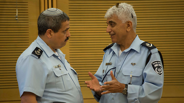 Roni Alsheikh (l) and Menny Yitzhaki (r) (Photo: Yoav Dudkevitz)