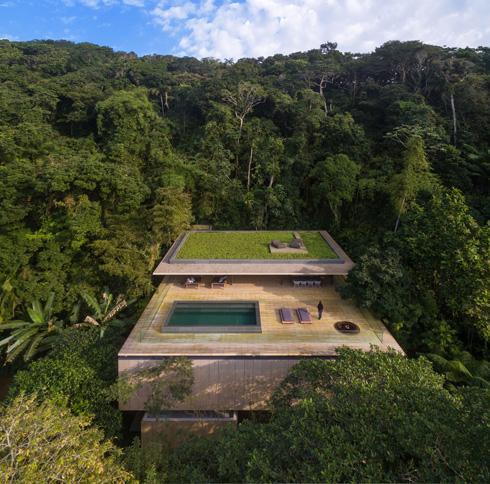 Jungle House של סטודיו MK27 (מרסיו קוגן) בברזיל (צילום: באדיבות World Architecture Festival announces 2016)