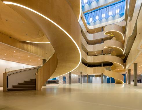 בית חולים פסיכיאטרי בדנמרק. פרויקט של Karlsson אדריכלים. מועמד לפרס (צילום: באדיבות World Architecture Festival announces 2016)