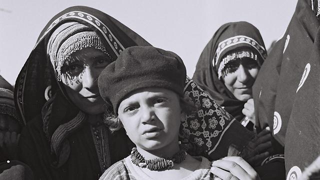 """עולים חדשים בשנות החמישים (צילום: דוד אלדן, לע""""מ)"""