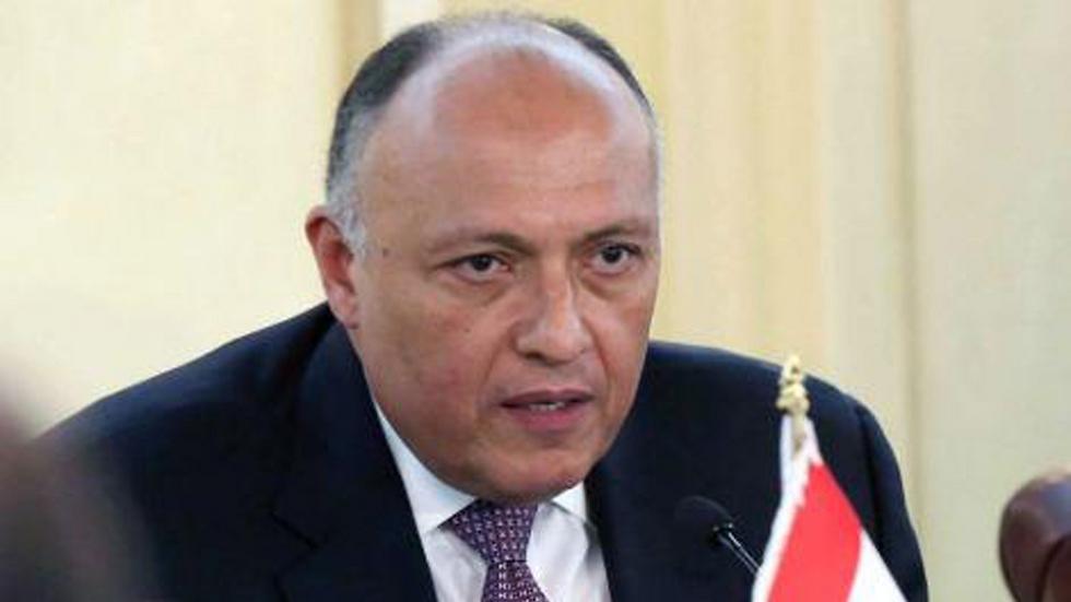 שר החוץ המצרי, סאמח שוכרי ()