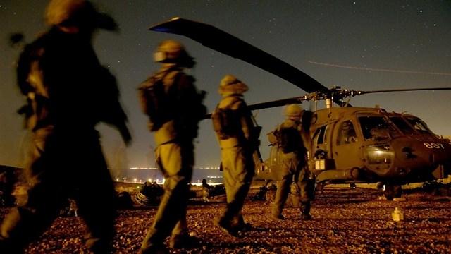 """פעילות בשטח האויב עלולה להתעכב בגלל הפגיעה במחסנים ובעורף (צילום: דובר צה""""ל) (צילום: דובר צה"""