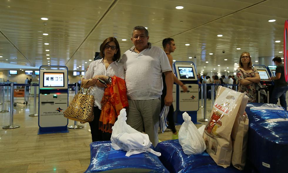 New Israelis Arifa and Assad Farajov (Photo: Ofer Meir)