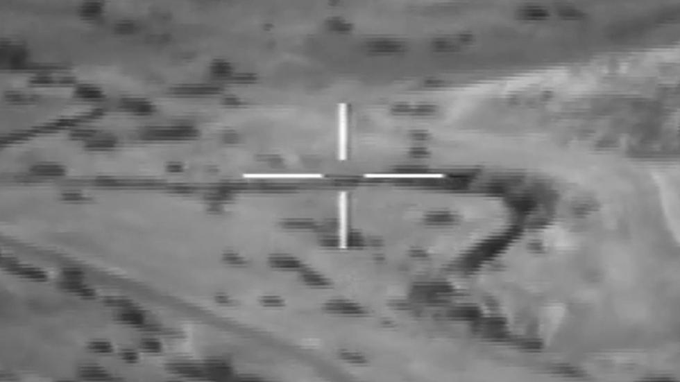"""הטיל במעופו למטרה (צילום: דובר צה""""ל) (צילום: דובר צה"""