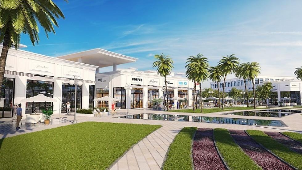 הדמיית המרכז המסחרי בנתניה (הדמיה: view point)