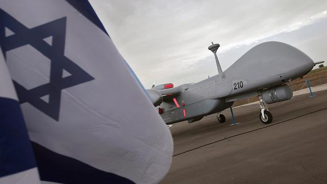 """מל""""ט """"איתן"""" מתוצרת התעשייה האווירית (צילום: gettyimages) (צילום: gettyimages)"""