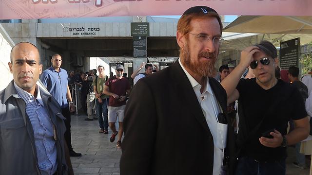 Rabbi Yehuda Glick (Photo: Gil Yohanan)