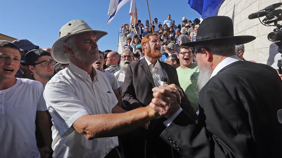 Hallel's father, Amichai (Photo: Gil Yohanan)