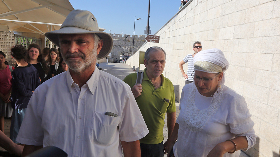 Hallel's parents, Amichai and Rina (Photo: Gil Yohanan)