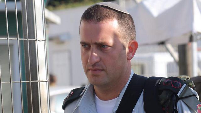 Lt. Col. David Shapira (Photo: Motti Kimchi) (Photo: Motti Kimchi)