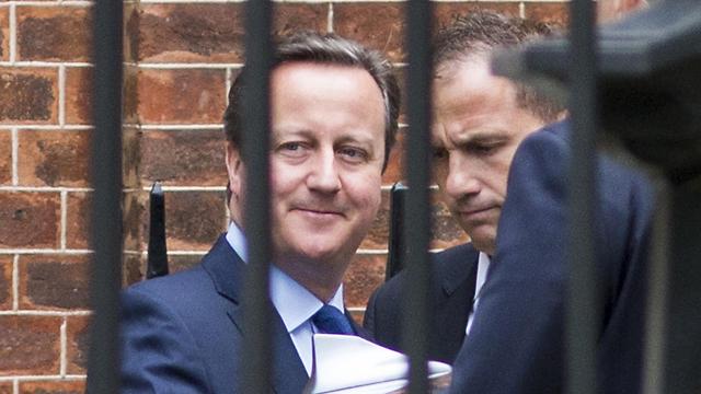 ערך אמש את ישיבת הקבינט האחרונה שלו. קמרון בדאונינג 10 בלונדון (צילום: gettyimages) (צילום: gettyimages)