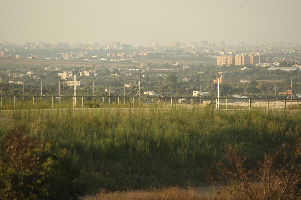 The area where the Israeli civilian crossed the border. (Photo: Roee Idan)