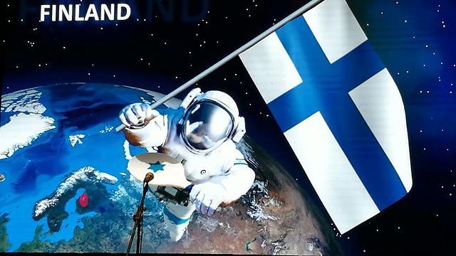 יש גם נציגות לפינלנד (צילום: ירון דרוקמן) (צילום: ירון דרוקמן)