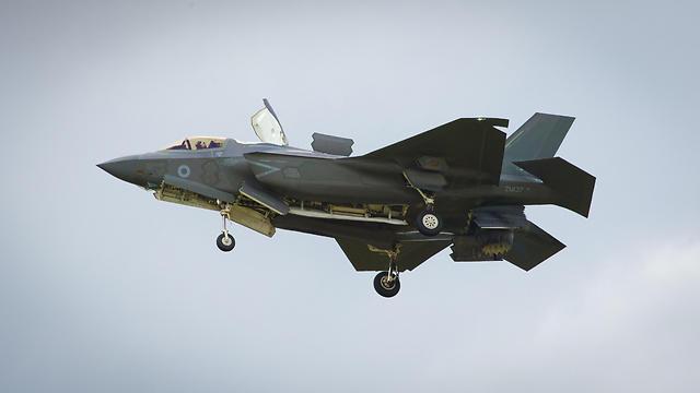 F-35B. נוחת אנכית וממריא ממסלולים קצרים (צילום: AP)
