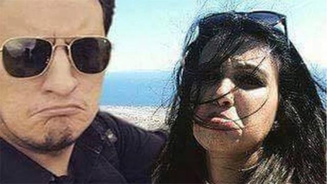 לא קיבל אשרת כניסה ליוון. מובין ובעלה הטרי ארסלאן ()