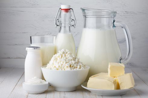 הלקטוז מצוי בכמות גדולה במוצרי חלב רזים כמו גבינות לבנות וחלב (צילום: Shutterstock)